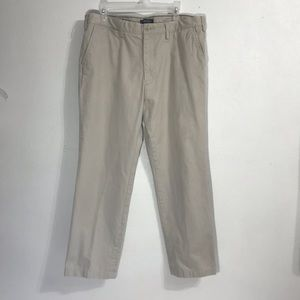 Nautica twill pants flat front color size 36 x 30